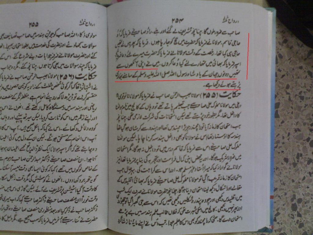 Deobandi Writing And Beliefs (against one another)